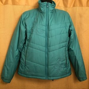 Columbia Puffer Jacket in Teal